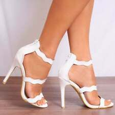Stiletto Peep Toe Synthetic Formal Shoes for Women