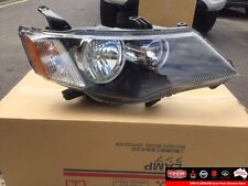 New Genuine Mitsubishi ZG Outlander Headlamp Assembly R/H #8301A152
