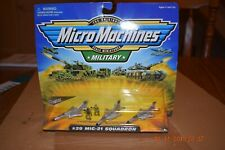 Micro Machines Military #29 MIG-21 Fishbed Squadron  Galoob NEW Sealed