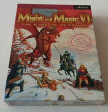 Might and Magic VI: 6 - The Mandate of Heaven, PC-CD-ROM, Big Box, 1998, OVP