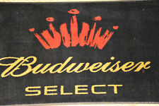 Large Budweiser Select Door Mat, Measures 58.5 x 33, Rubber Back, 2008- Preowned