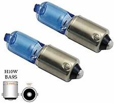 2x St. SUPER WHITE H10W BA9s 12V 10Watt Glühbirnen Halogen Lampen 9mm Metall