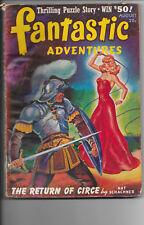 Fantastic Adventures Vol.3 #6 The Return Of Circe Nat Schachner August 1941