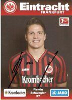 Pirmin Schwegler  Eintracht Frankfurt 2012/2013-2012/1312/13-DFB-Autogramm-CH-96