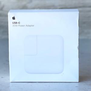 Apple MY1W2AM/A 30W USB-C Power Adapter Genuine OEM - NEW OPEN