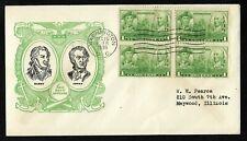 #790 1c John Paul Jones / John Barry - Navy Issue - Linprint FDCB4