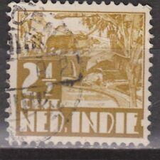 Nederlands Indie 248 used Karbouw 1938 Netherlands Indies watermark