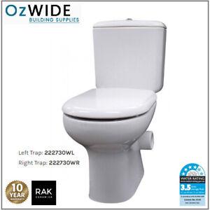 RAK LIWA Skew Toilet Suite Flush Left or Right Skew Available