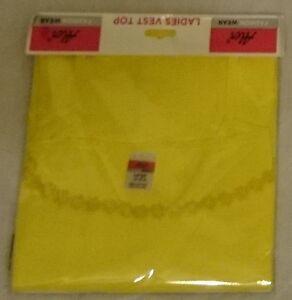 Ladies Womens Girls Daisy Flower Floral Cotton Vest Top Pastel Colours Size S-XL