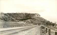 Wisconsin, WI, Lacrosse, Highway 16 1940's Real Photo Postcard