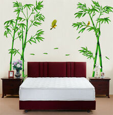 Bamboos Birds Room Decor Removable Wall Sticker Decal Decoration Wandtattoo