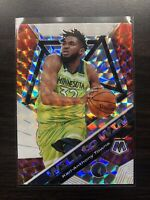2019-20 Panini Mosaic Will to Win Mosaic Prizm SP Karl Anthony Towns