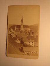 St. Mang Kirche in Kempten / ca. 1860/70er Jahre CDV O. Zabuesnig Kempten