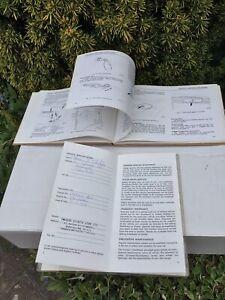 Daimler  Limousine Owners Handbook & Passport To Service,book 1977