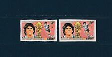 Guinée république  PA  coupe du monde de football 1986 num : PA 207  D et ND **