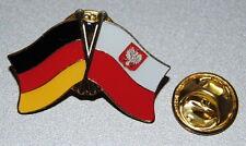 FREUNDSCHAFTSPIN 0112 PIN ANSTECKER DEUTSCHLAND / POLEN FAHNE ADLER METALL PINS