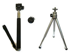 GoPro monopod/ski pole & Mini extendable tripod inc tripod mount -GoPro 4,3+,3,2