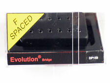 DiMarzio F-spaced Evolution Bridge Humbucker W/Black Cover DP 159