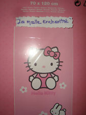 SERVIETTE DRAP DE BAIN PISCINE HELLO KITTY 70X120 CM