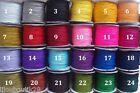 Fil nylon tressé 0,8mm cordon de 3m / choix de couleur / création bijoux perles