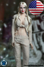 1/6 Scale Harley Quinn Suicide Squad Prisoner Female Figure PHICEN Body Set USA