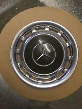 Mercedes Benz Radkappe 14 Zoll Rarität (Chromstahl) Dunkelgrün Daimler