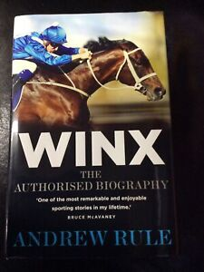 Winx The Authorised Biography By Andrew Rule (Hardcover 2018 Allen & Unwin)
