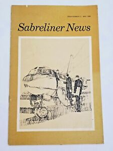 RARE VINTAGE NORTH AMERICAN ROCKWELL SABRELINER NEWS MAY 1968 SABRE LINER