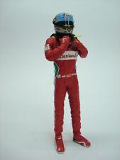1/18 FIGURE REF 72I FERNANDO ALONSO F1 FERRARI 2012 PILOTA DRIVER FIGURINO