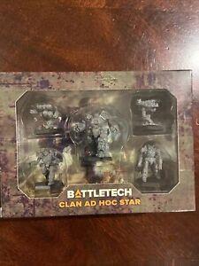 Battletech Clan Ad Hoc Star Catalyst Game Labs Kickstarter Clan Invasion