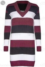 Markenlose Damen-Kapuzenpullover & -Sweats mit V-Ausschnitt in Größe XL
