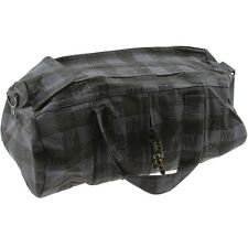Stussy Buffalo Plaid Duffle Bag (black)
