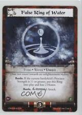 2013 Legend the Five Rings CCG - Coils Madness False Ring of Water #111 1i3