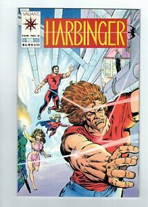 Harbinger #2 From Valiant Comics 1992 With Card Insert