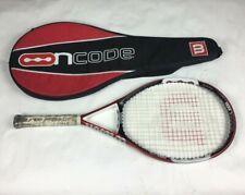"Wilson nCODE n5 Oversize Tennis Racquet w/ Case Size 4 1/4"""