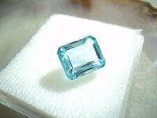 TOP Blauer Topas im emerald cut       (E01)