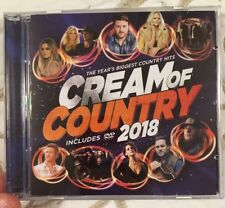 CREAM OF COUNTRY 2018 CD ONLY Chris Young Luke Combs Lee Brice Tyler Farr