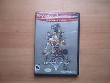 Kingdom Hearts II 2 for Playstation 2 RPG Brand New, Factory Sealed! USA version