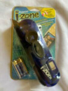 Vtg new Polaroid i-Zone Instant Pocket Camera Blue new sealed