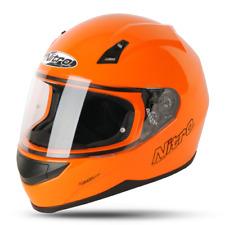 NITRO N2000-VN uno Naranja Casco De Moto