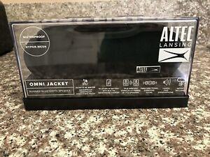 Altec Lansing IMW678 Omni Jacket Bluetooth Wireless NFC Waterproof Speaker Black