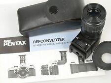 Pentax Winkelsucher M 1x - 2x für for MX K2 KX ES ESII u. Digital K-1 K-3 KP K70
