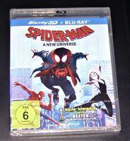 Spider Man A Nuovo Universo 3D blu ray+ ray Veloce Spedizione e Confezione