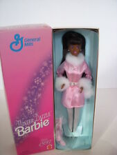 GENERAL MILLS WINTER DAZZLE BARBIE DOLL, AFRICAN AMERICAN, #18457 MINT CONDITION
