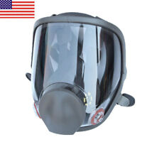 Large Size Full Face Gas Mask Painting Spraying Respirator F 3M 6800 Facepiece #