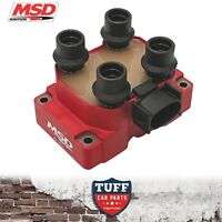1 x MSD 8241 High Output Ignition Coil Pack AU Ford Falcon 5lt 302 V8 1998-2002