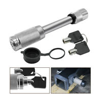 """Trailer Hitch Lock For Class III IV V Hitches 5/8"""" Stainless Steel Hitch Pin US"""