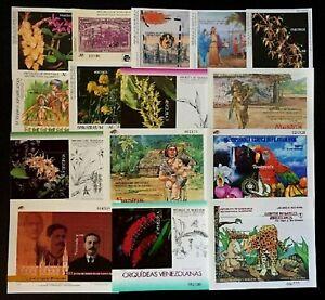 Venezuela Stamps lot of 35 Souvenirs Sheet different themes MNH 1991 - 2011