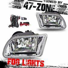 For 1999-2001 Honda Odyssey Clear Lens Chrome Housing Fog Lights Lamps