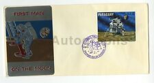 Apollo 11 - Vintage Commemorative First Day Cover - Paraguay